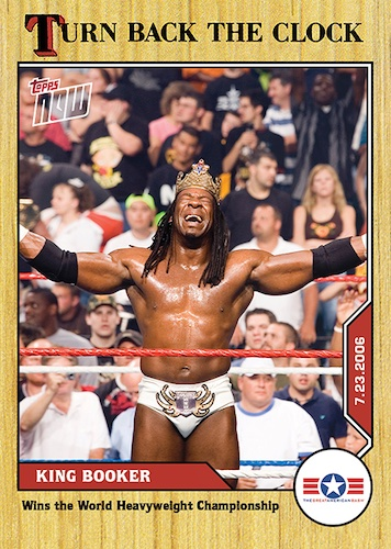 2021 Topps Now WWE Wrestling Cards - Turn Back the Clock 5
