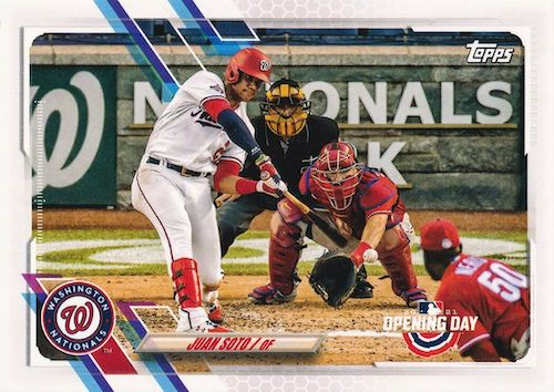 2021 Topps Opening Day Baseball Variations Checklist Gallery 48