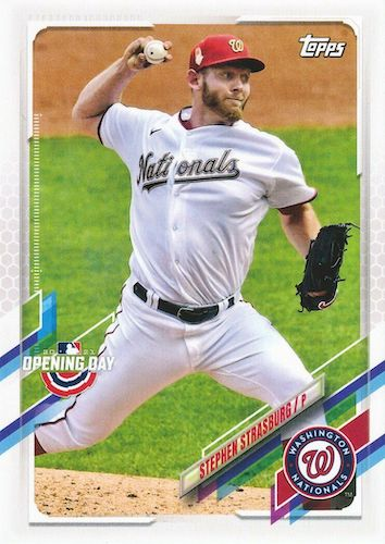 2021 Topps Opening Day Baseball Variations Checklist Gallery 12