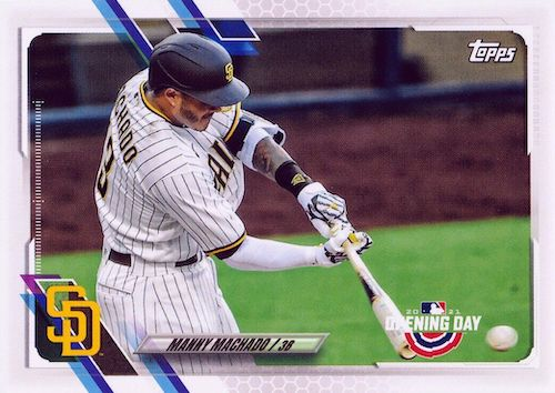 2021 Topps Opening Day Baseball Variations Checklist Gallery 20