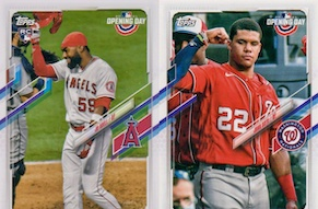 2021 Topps Opening Day Baseball Variations Checklist Gallery