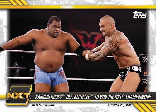 2021 Topps WWE NXT Wrestling Cards 3