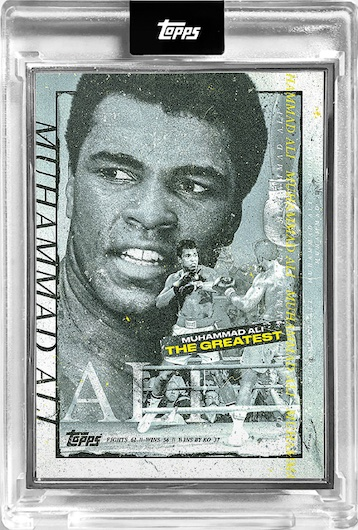 2021 Topps Muhammad Ali The People's Champ Collection Cards 5