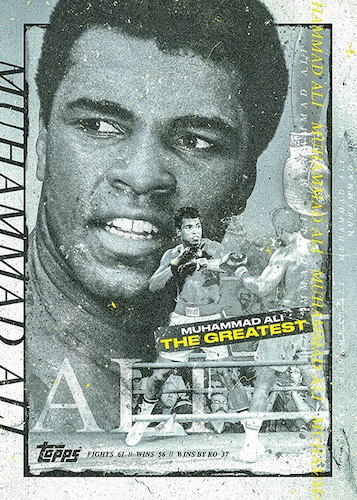 2021 Topps Muhammad Ali The People's Champ Collection Cards 3