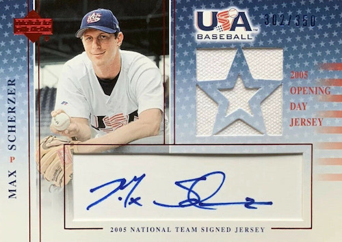 Top Max Scherzer Cards to Collect 6