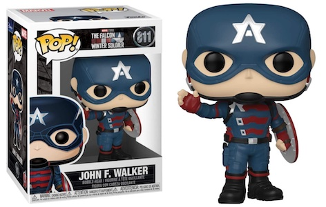Funko Pop Falcon and the Winter Soldier Figures 4