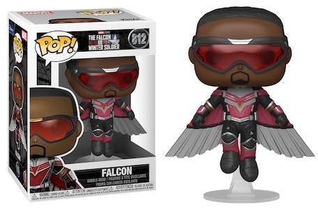 Funko Pop Falcon and the Winter Soldier Figures 5