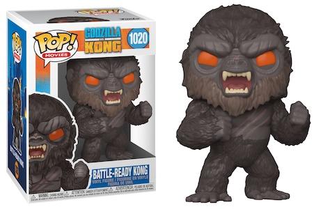 Funko Pop Godzilla vs. Kong Figures 9