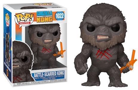 Funko Pop Godzilla vs. Kong Figures 12