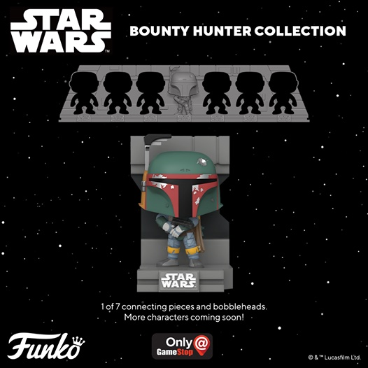 Funko Pop Star Wars Bounty Hunters Collection Deluxe Figures Gallery and Checklist 1