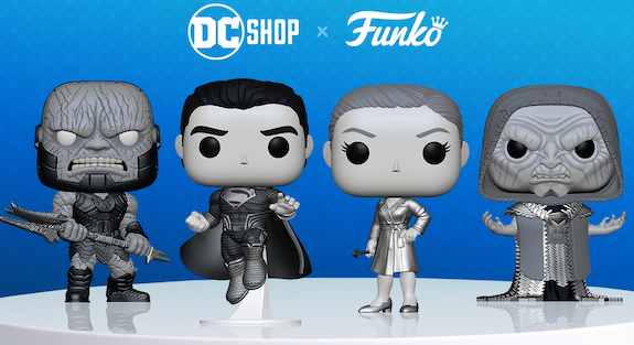 Ultimate Funko Pop Justice League Movie Figures Gallery and Checklist - Zack Snyder 20