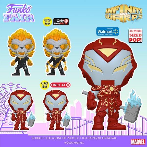 Funko Pop Marvel Infinity Warps Figures 4