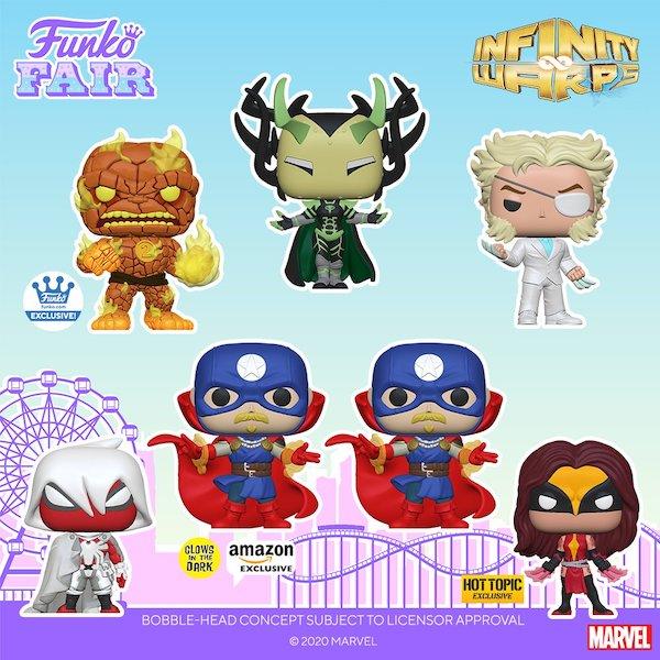 Funko Pop Marvel Infinity Warps Figures 5