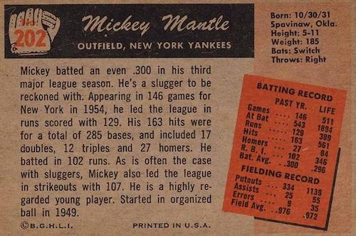 1955 Bowman Baseball Cards 3