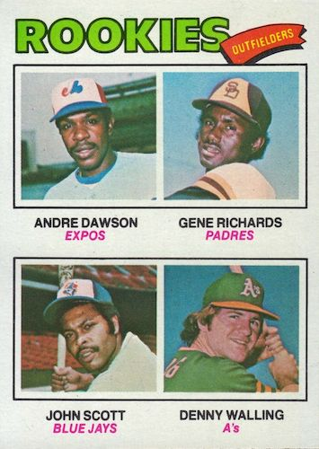Top 1977 Baseball Cards to Collect 10