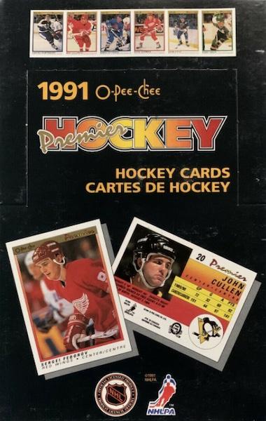 1990-91 O-Pee-Chee Premier Hockey Cards 5