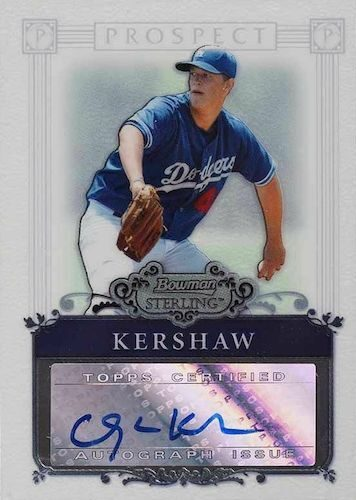 Top Clayton Kershaw Cards to Collect 8