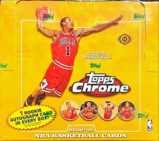 2008-09 Topps Chrome Basketball Cards 5