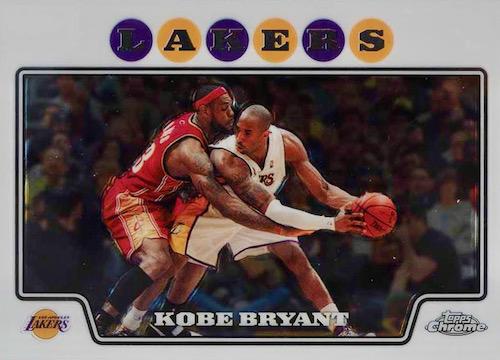 2008-09 Topps Chrome Basketball Cards 3