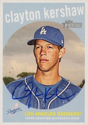 Top Clayton Kershaw Cards to Collect 9