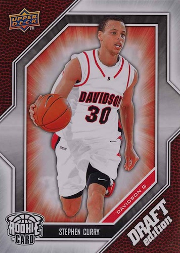 Stephen Curry Rookie Cards Gallery and Checklist 34
