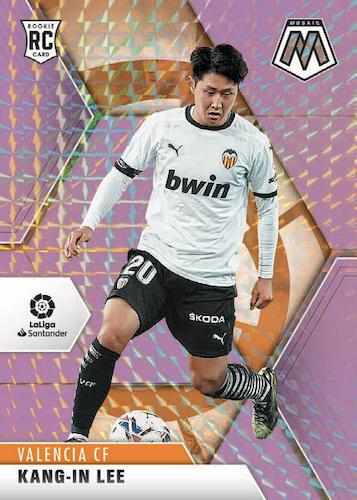 2020-21 Panini Mosaic La Liga Soccer Cards - Checklist Added 2