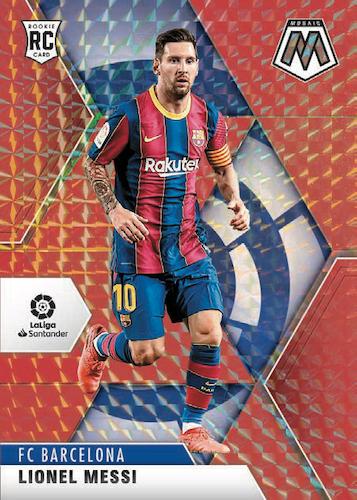 2020-21 Panini Mosaic La Liga Soccer Cards - Checklist Added 1