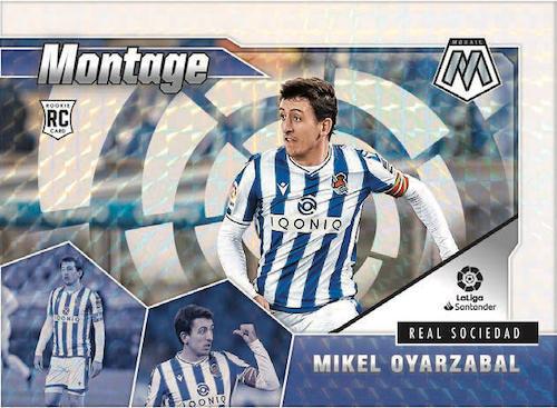 2020-21 Panini Mosaic La Liga Soccer Cards - Checklist Added 3