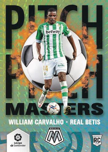 2020-21 Panini Mosaic La Liga Soccer Cards - Checklist Added 4