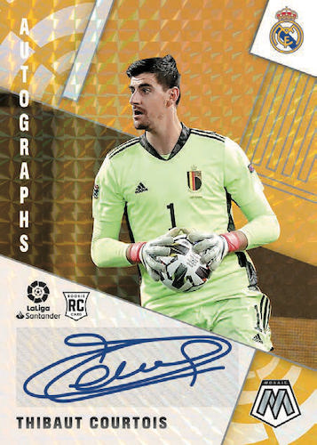 2020-21 Panini Mosaic La Liga Soccer Cards - Checklist Added 7