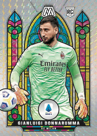 2020-21 Panini Mosaic Serie A Soccer Cards - Checklist Added 4
