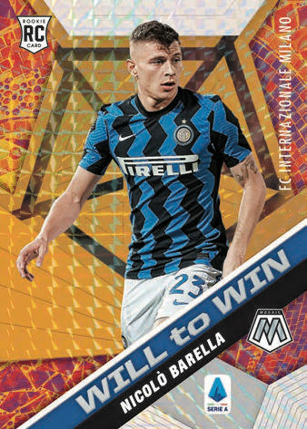 2020-21 Panini Mosaic Serie A Soccer Cards - Checklist Added 3