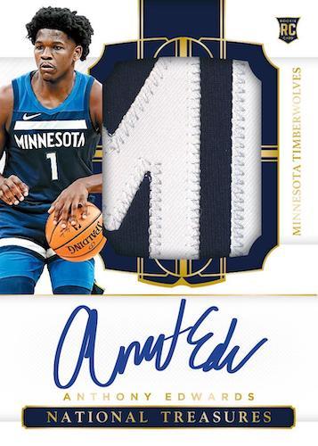 2020-21 Panini National Treasures Basketball Cards 3