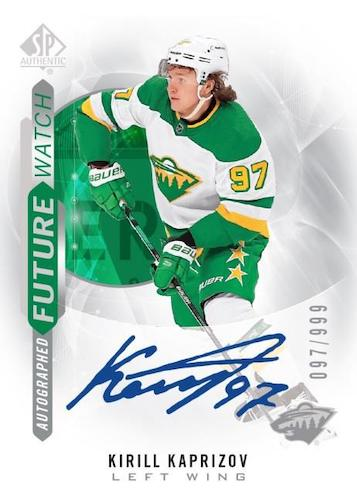 2020-21 SP Authentic Hockey Cards 3