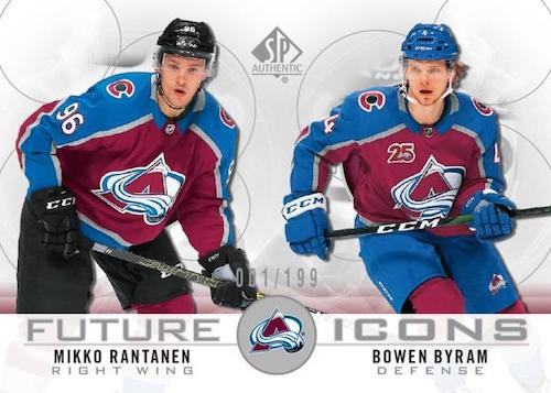 2020-21 SP Authentic Hockey Cards 1