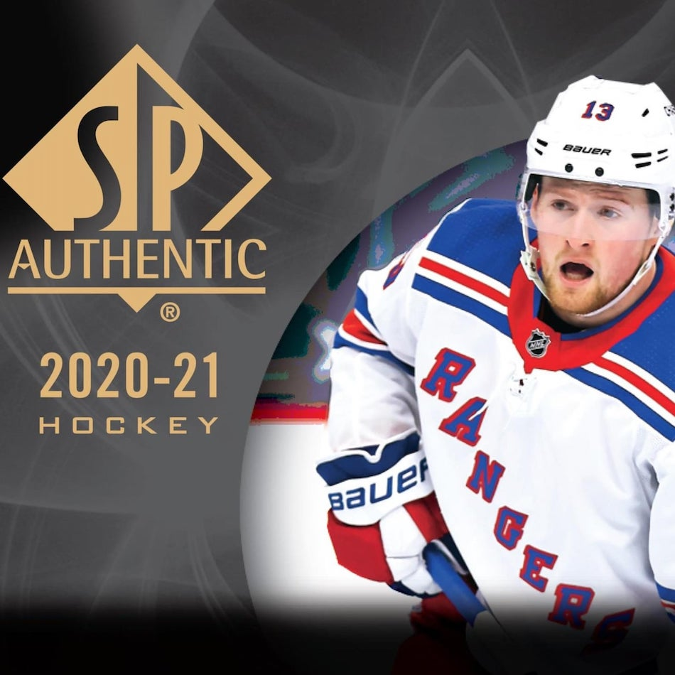2020-21 SP Authentic Hockey Checklist, Set Info, Boxes, Odds, Date