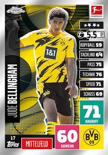 2020-21 Topps Chrome Match Attax Bundesliga Soccer Cards 3