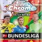 2020-21 Topps Chrome Match Attax Bundesliga Soccer Cards