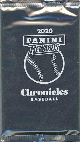 2020 Panini Chronicles Baseball Cards - White Sparkle Packs 4