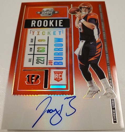 2020 Panini Contenders Optic Football Cards 5
