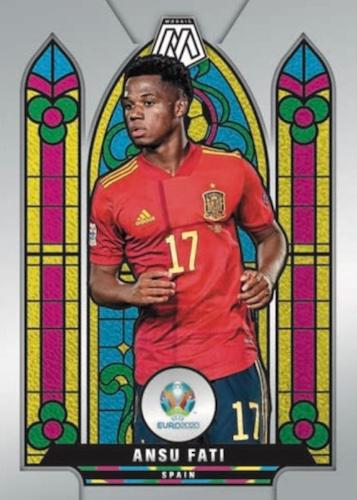 2021 Panini Mosaic UEFA Euro 2020 Soccer Cards 5