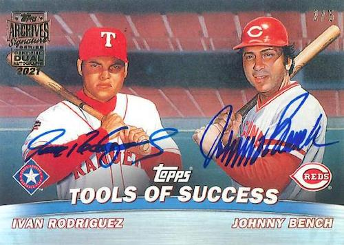 2021 Topps Archives Signature Series Retired Player Edition Baseball Cards 6