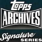 2021 Topps Archives Signature Retired Player Baseball
