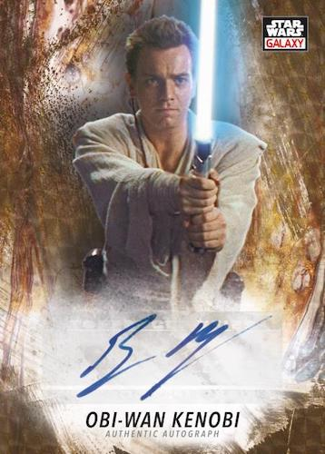 2021 Topps Chrome Star Wars Galaxy Trading Cards 7