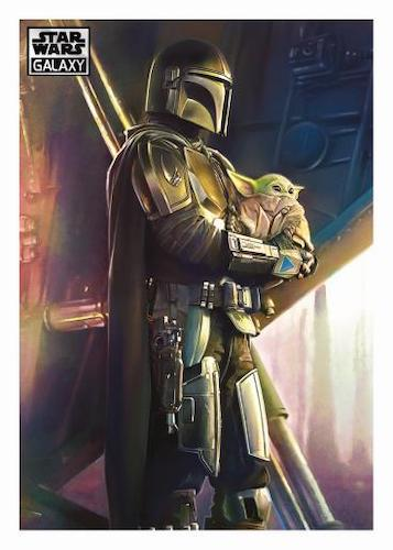 2021 Topps Chrome Star Wars Galaxy Trading Cards 5