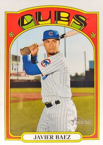 2021 Topps Heritage Baseball Variations Gallery and Checklist 27