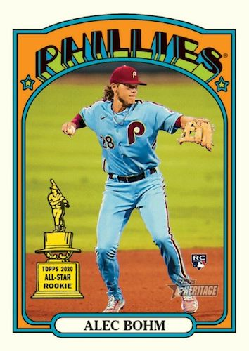 2021 Topps Heritage Baseball Variations Gallery and Checklist 37