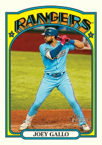 2021 Topps Heritage Baseball Variations Gallery and Checklist 44