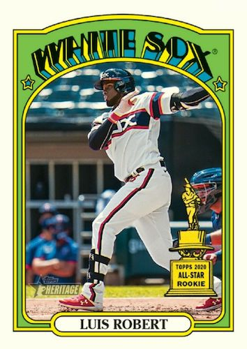 2021 Topps Heritage Baseball Variations Gallery and Checklist 39