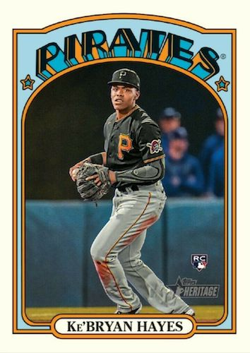 2021 Topps Heritage Baseball Variations Gallery and Checklist 40